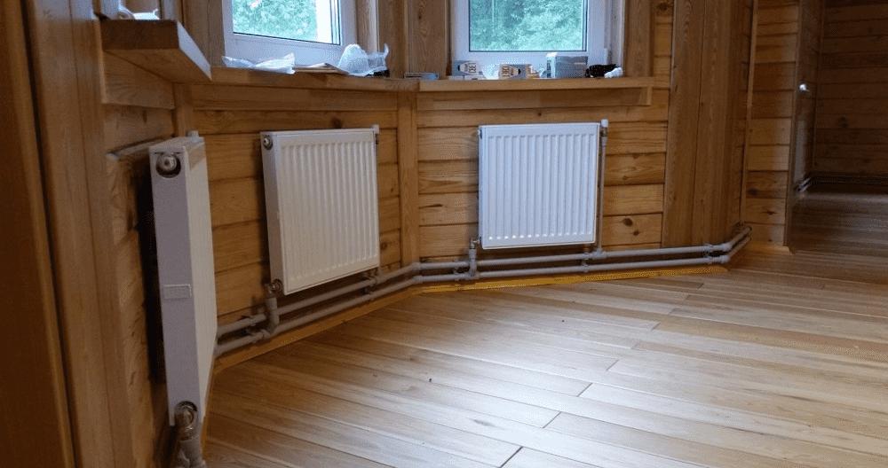 газовое отопление загородного дома